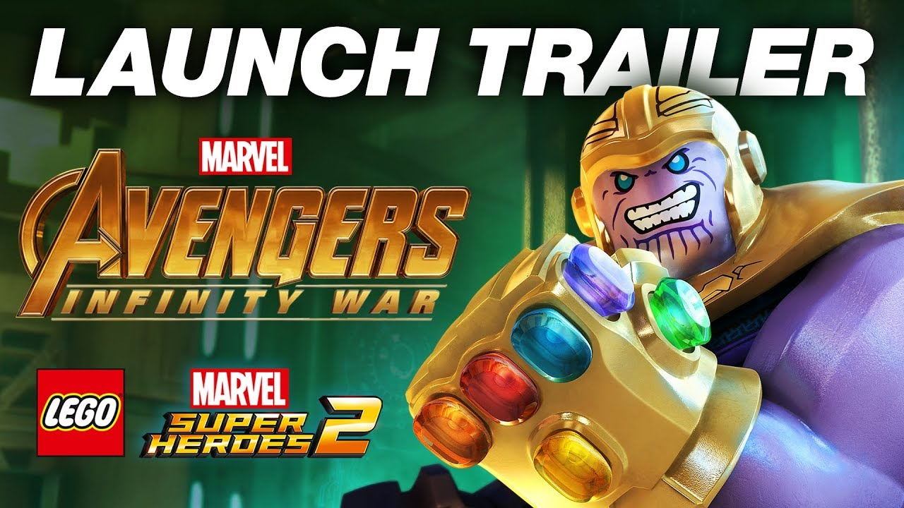 Avengers: Infinity War DLC lets you play as Thanos in Lego