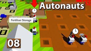 Autonauts | Samen Stau ► #8 ► Lets Play Roboter Simulator deutsch german