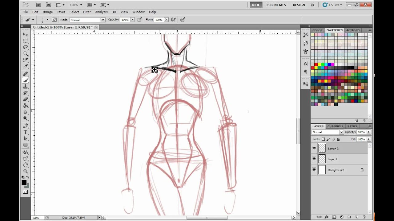 How To Master Drawing Poses From Your Mind Youtube