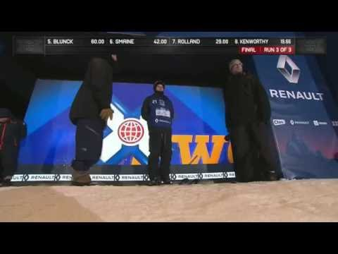 Gus Kenworthy - X Games Oslo 2016 - 3rd Place Run Superpipe
