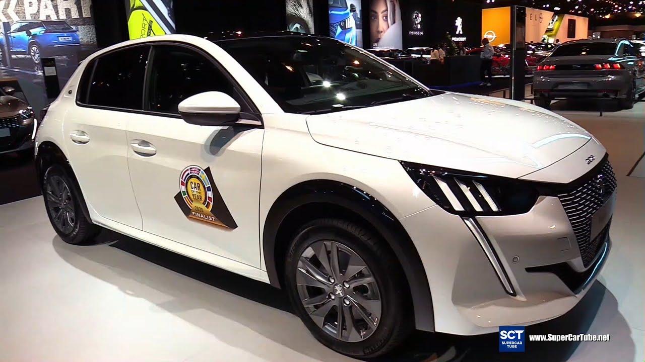 Chi tiết mẫu xe Peugeot e 208 tại triển lãm xe hơi