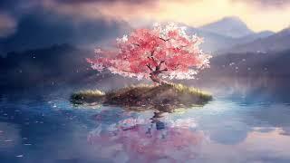 Lone Cherry Blossom. live wallpaper screenshot 2