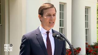 Jared Kushner speaks after Senate Intelligence meeting
