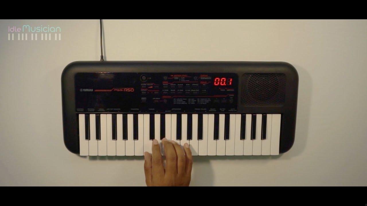 Beginner Keyboard Lessons - Part1 | Sarali Swaralu | mayamalava goula