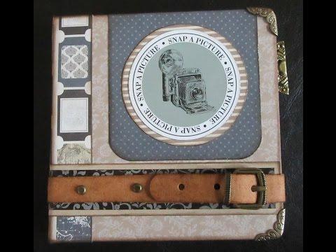 Old World Travel Flip Book Tutorial