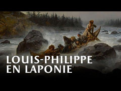 Vidéo Louis-Philippe sur le fleuve Muonio, en Laponie