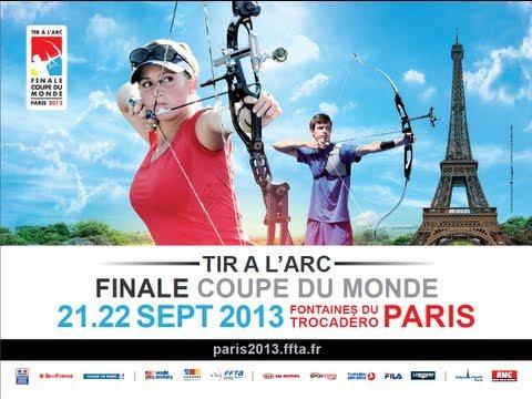 LIVE 22/09/2013  - PARIS WC 2013 - Recurve Ind. Finals