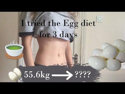 I tried the Egg Diet for 3 Days.