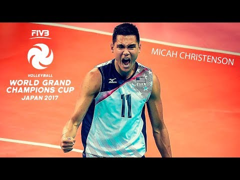 Micah Christenson - Best Volleyball Setter | Champions Cup 2017