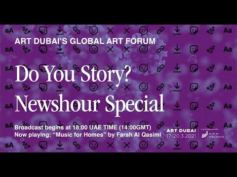 Global Art Forum - Newshour Special