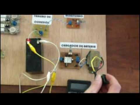 Inversor Dc Ac Con Switcheo Y Cargador De Baterias Youtube