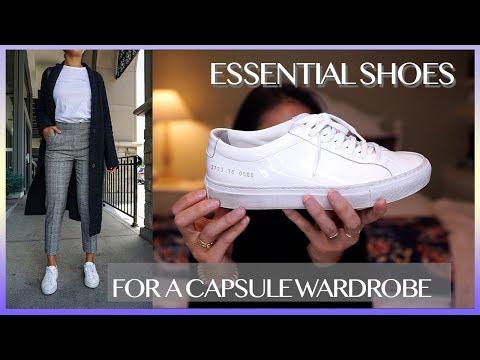 6 SHOES EVERY GIRL NEEDS | Wardrobe Basics
