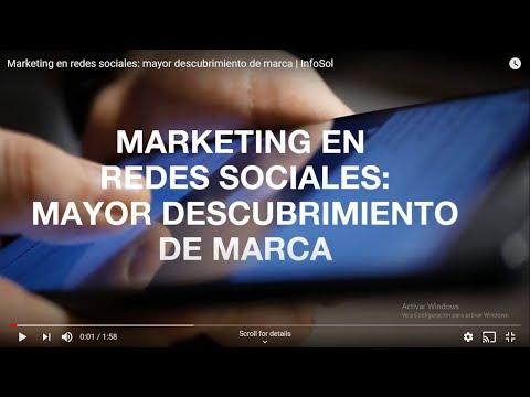 Marketing en redes sociales: mayor descubrimiento de marca | InfoSol