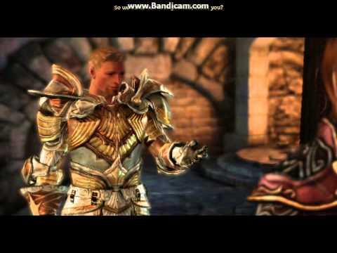 Dragon Age Origins Warden choosing King and proposal |