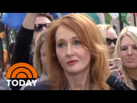 JK Rowling And 'Fantastic Beasts' Cast Stop  The TODAY Plaza  TODAY