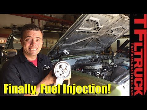 Project Big Green: Our Chevy K10 is Finally Getting Throttle Body Fuel Injection