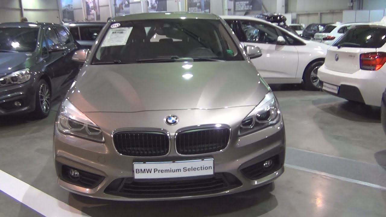 bmw 218i active tourer 2016 exterior and interior in 3d youtube. Black Bedroom Furniture Sets. Home Design Ideas