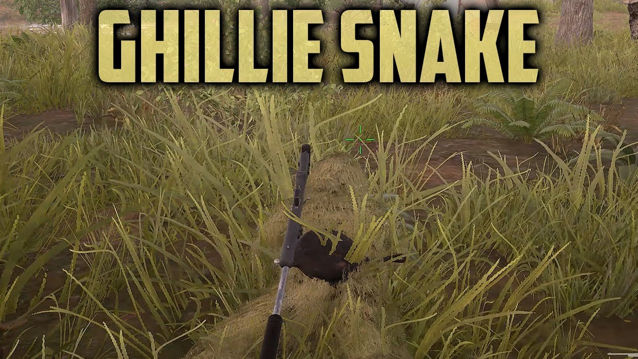 PUBG Ghillie Snake is Back (Playerunknown's Battlegrounds) thumbnail