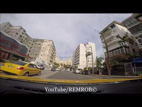 Driving Out Of Havana, CUBA 2017