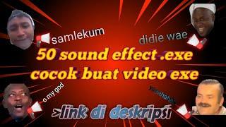 Download SOUND EFFECT YANG SERING DIGUNAKAN YOUTUBER |50+ SOUND EFFECT.EXE