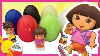 Oeufs surprises de COULEURS - Dora l'exploratrice Diego - Touni Toys Titounis