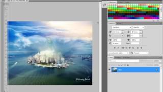 Видео урок по PS CS5 #2 by Ucoz24.com