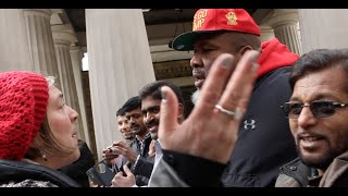 INCREDIBLE OUTBURST! - SHANNON BRIGGS GETS IN ARGUEMENT WITH RUDE WOMAN OUTSIDE BUCKINGHAM PALACE!!!