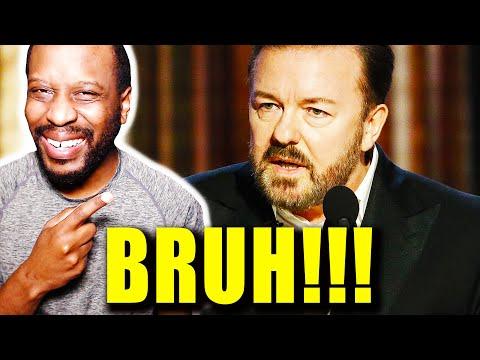 Ricky Gervais DESTROYS Golden Globes: Hollywood Reaction