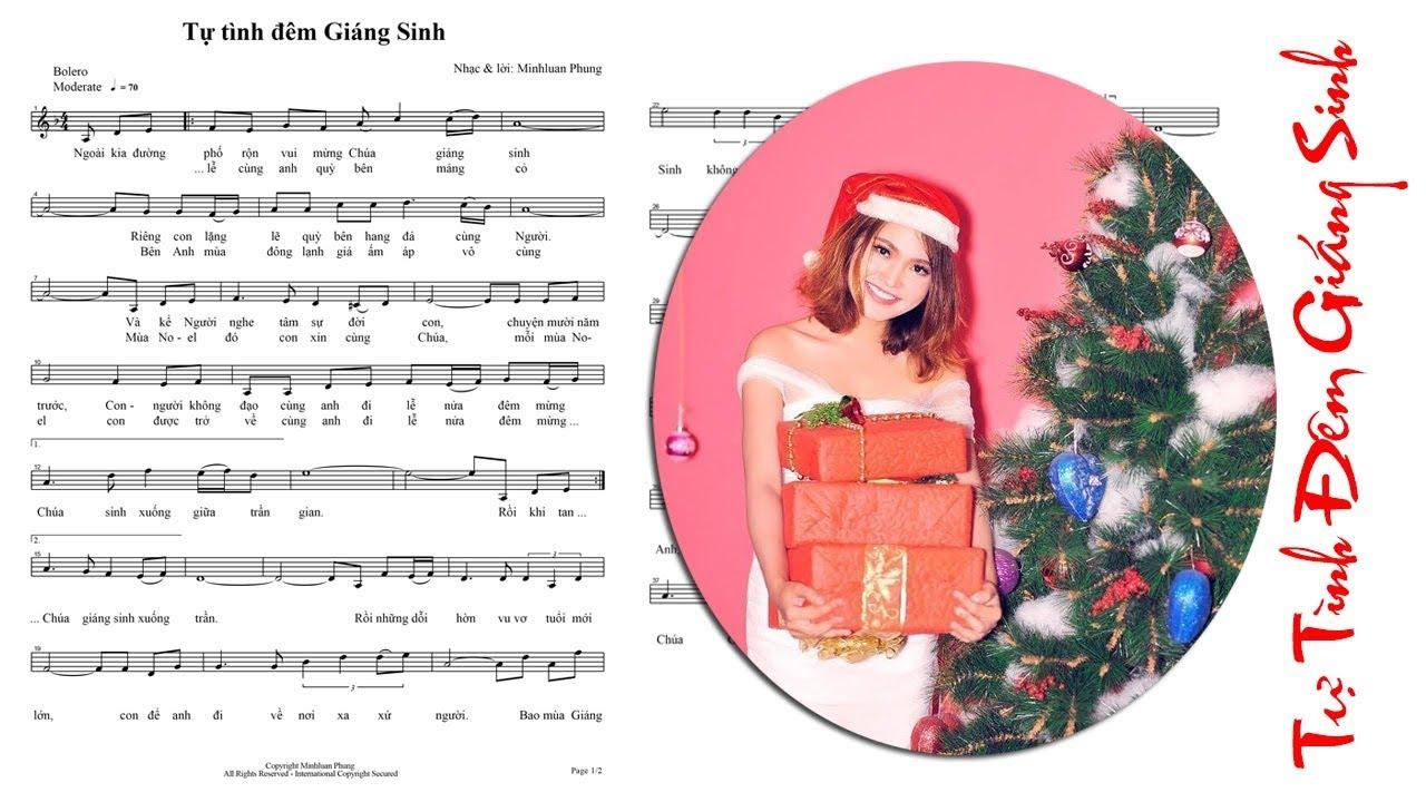 Bài hát giáng sinh Noel mới nhất 2017 | Tự tình đêm giáng sinh | Mộc Thanh |