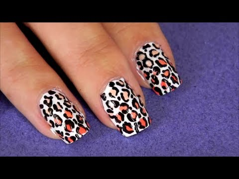 n gel im ombre leoparden look tutorial youtube. Black Bedroom Furniture Sets. Home Design Ideas