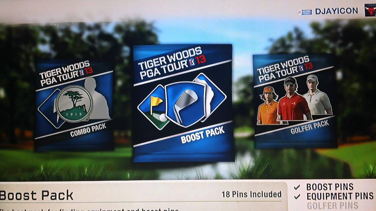 Tiger Woods Pga 13 Gameplay Unlocking Pin Packs