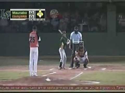 7mo Juego Maunabo vs Guayama Beisbol Doble A Liga Caribe 2011