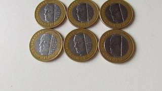 Preço da moeda do JK Juscelino Kubitschek de Oliveira