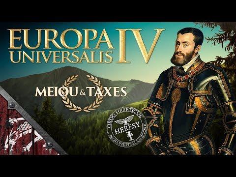 Let's Play EU4 MEIOU & Taxes 2.5 Heresy Ep33 AEIOU!