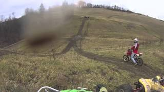 Dirt Bikes Jumping