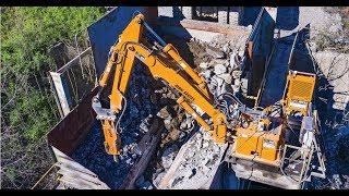 Why Harrison Construction Depends On Breaker Technology's MRH20 BX40 Rockbreaker System