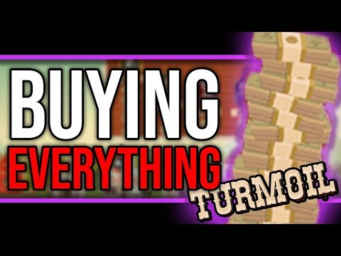 Turmoil - WE'RE RICH! GOING FOR 100 STOCK! - Turmoil Game Gameplay Let's Play Ep 4