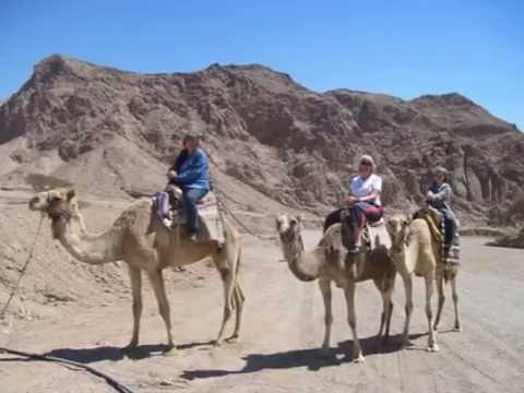 Backpacking Travel Photos and Videos to Egypt, Israel and Jordan