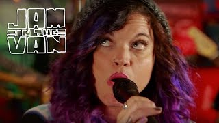 "BEEBS AND HER MONEY MAKERS - ""Out the Door"" (Live from California Roots 2015) #JAMINTHEVAN"