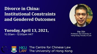 Divorce in China: Institutional Constraints and Gendered Outcomes