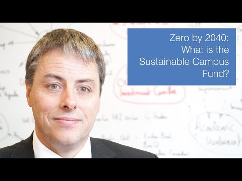What is the Sustainable Campus Fund?