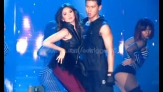 Sarah Geronimo with Enchong Dee - Can't Remember To Forget You OFFCAM (16Feb14)