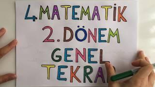 4. Sınıf Matematik 2. Dönem Full Özet