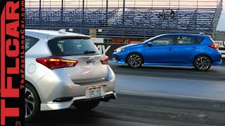 Manual Transmission vs Auto CVT Performance Review: 2016 Scion iM vs Scion iM