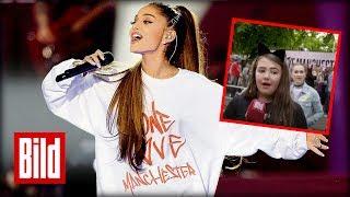 """Ariana Grande Konzert in Manchester: """"Wir waren dabei, als die Bombe explodierte"""""""