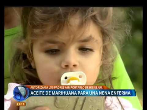 Josefina: niña de 3 años, usuaria de cannabis medicinal (Telefe)