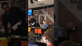 Piano concert from instructor Tyris Washington at the house that rocks!