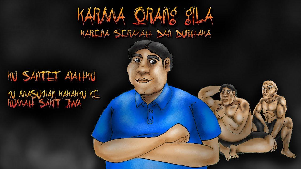 Kartun Hantu Lucu Episode 89 - Karma Manusia Serakah dan Durhaka