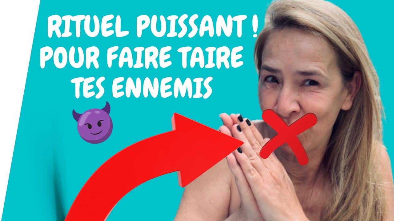 🔴 RITUEL PUISSANT😱COUVRE la bouche de TES ENNEMIS . ÉLOIGNE Ceux Qui Parlent Mal De TOI!!