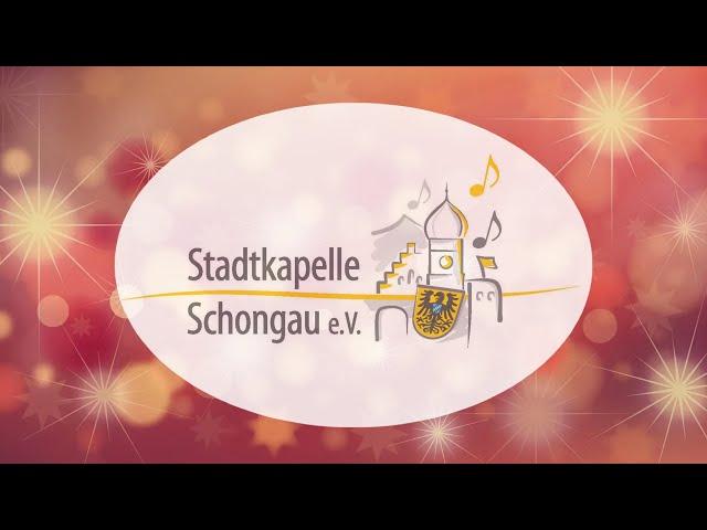 Videokonzert zu Weihnachten von der Stadtkapelle Schongau